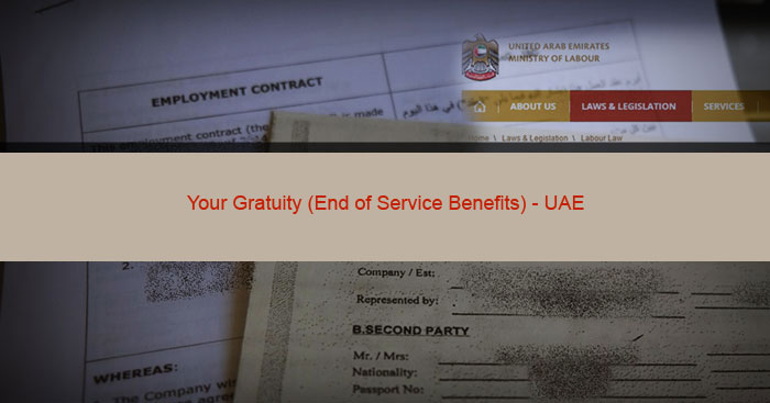 Employment Benefits - End of Service Gratuity