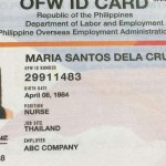 OEC is gone, but UAE Filipinos have to wait for new OFW IDs