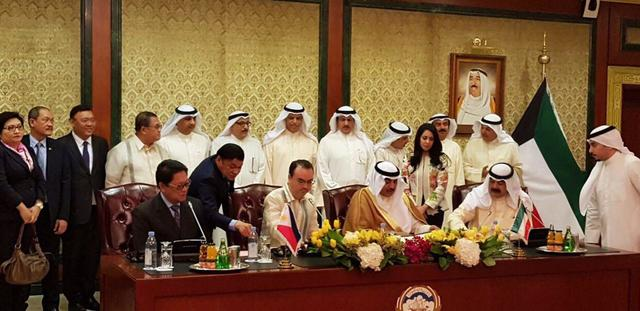 Philippines and Kuwait sign agreement protecting OFWs