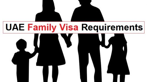 uae family visa requirements